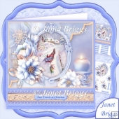 Sleigh Ride and Frosted Florals 8x8 Christmas Mini Kit