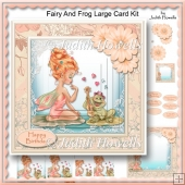 Fairy And Frog Large Card Kit