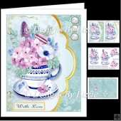 Teacup Flowers Mini Kit 3