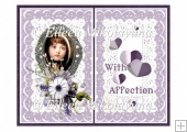 With Affection Card Insert