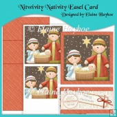 Nitwivity Nativity Easel Card