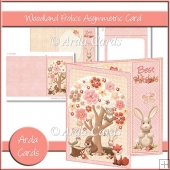 Woodland Frolics Asymmetric Card