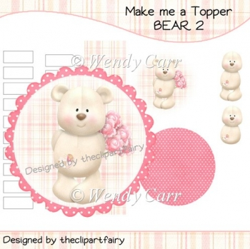 Make me a Topper - Bear 2(Retiring in August)
