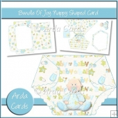 Bundle Of Joy Nappy Shaped Card