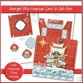 Aarrgh! Me Hearties Birthday Card & Gift Box