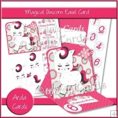 Magical Unicorn Easel Card