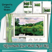 Riverbank Get Well Card Kit