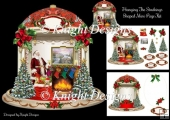 Hanging The Stockings Christmas Mini Page Kit