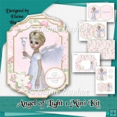 Angel of Light 1 Christmas Card Kit