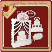 514 Cake Tent or Diorama Card MACHINE Cut Files