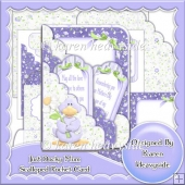Just Ducky Mum Scalloped Pocket Card