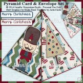 Pyramid Card - Christmas Nutcracker