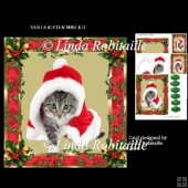 Santa Kitten Mini Kit