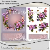 Enchanted Garden Easel Panels/Card Front