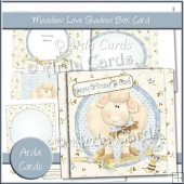 Meadow Love Shadow Box Card