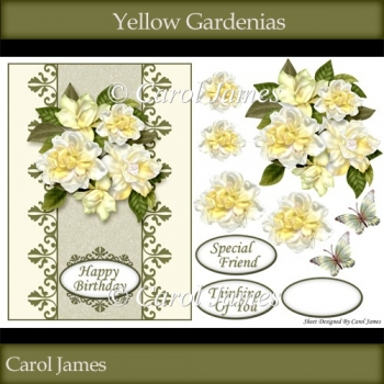 Yellow Gardenias