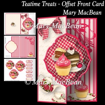 Teatime Treats - Offset Front Card