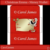 Christmas Emma - Money Wallet