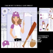 Take Me Out To The Ball Game Mini Kit