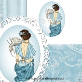 RTP Oval Frilly Die Cutting Lady 5 (Retiring in August)