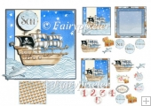 Pirate Ship card Kit