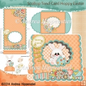 Scallop Tent Card Hoppy Easter 2