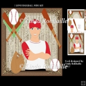 I Love Baseball Mini Kit