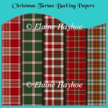 Tartan Collection 2 Backing Papers