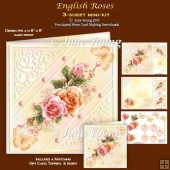 English Roses - 3-Sheet Mini-Kit