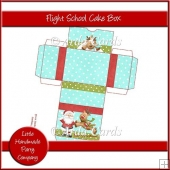 Flight School Cake Box
