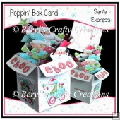 Poppin Box Card - Santa Express