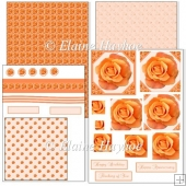 Apricot Rose Pyramage