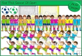 Fever Pitch Summer CU Clipart