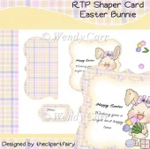 RTP Shaper Card - Easter Bunnie(Retiring in August)
