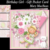 Birthday Girl - Gift Pocket Card