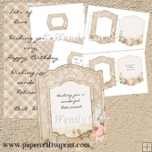 RTP - Floral Frames - Rose Creation 2(Retiring in August)