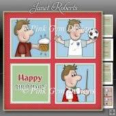 Dave Birthday Squares Mini Kit