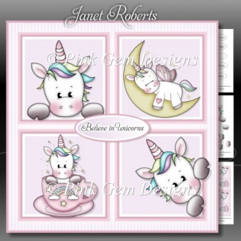Unicorn Squares Mini Kit