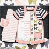 New Baby Romper Birthday Girl