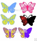 Butterfly Selection (multi cutting formats)