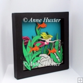 Under The Sea Picture Shadow Box Template - GSD/Studio Ready