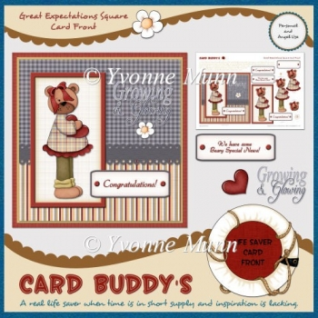 Great Expectations Square Card Front