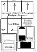 CU Interactive Flip Card Templates - Designer Resource