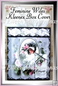 Feminine Wiles Kleenex Brand Tissue Box Cover with Directions