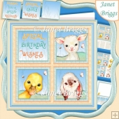 SPRING BABIES SQUARES 7.5 Quick Layer Card & Insert Kit