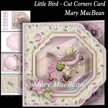 Little Bird - Cut Corners Card