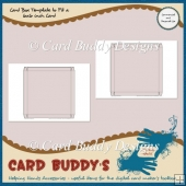 Card Box Template to Fit a 6x6 inch Card – CU/PU