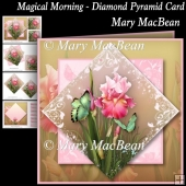 Magical Morning - Diamond Pyramid Card