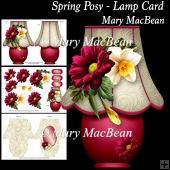Spring Posy - Lamp Card