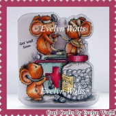 Get Well Soon Mice Fold Card Kit